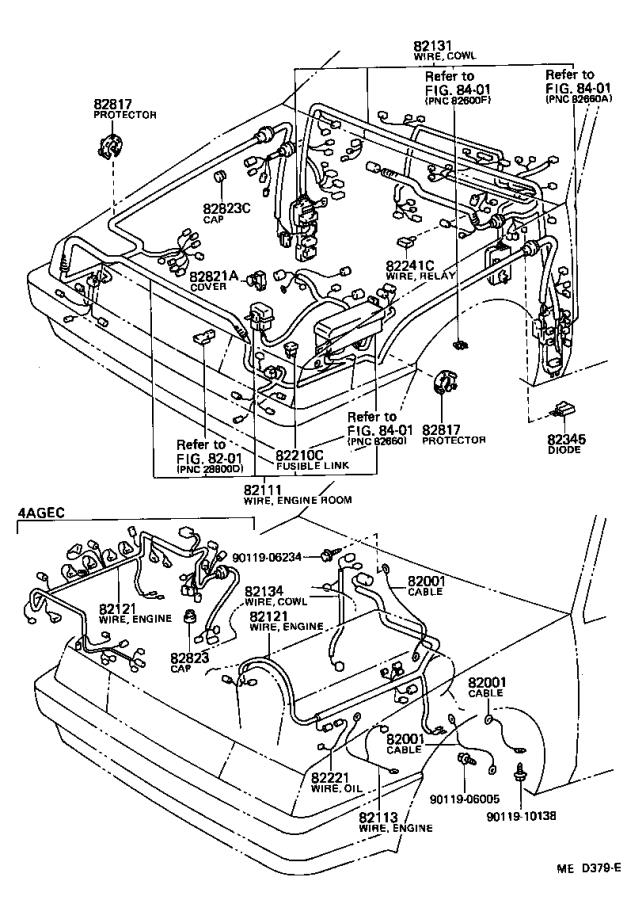 1986 Toyota Towing Options, 30 Amp Fusible Link. Towing ...
